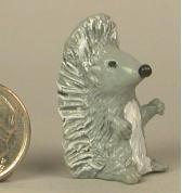 Hedgehog painted