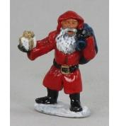 Santa with Present pewter