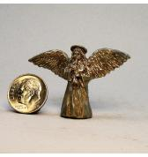 Angel with Lute pewter