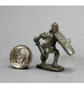 Roman Legionnaire with Sword pewter