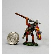 Roman Legionnaire Throwing Pilum painted