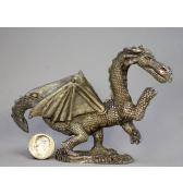 Huge Dragon pewter