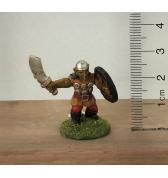 Goblin with Scimitar and Round Shield painted
