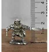 Halfling Rogue with Sword and Knife pewter