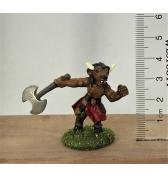 Minotaur with Axe painted
