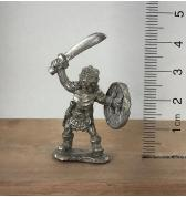 Orc with Raised Scimitar pewter