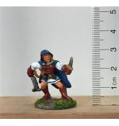 Female Rogue with Grappling Hook and Knife painted
