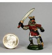 Samurai with Sword painted
