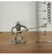 Skeleton with Spear pewter