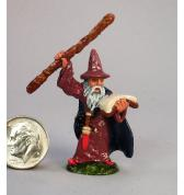 Wizard with Spell Book painted